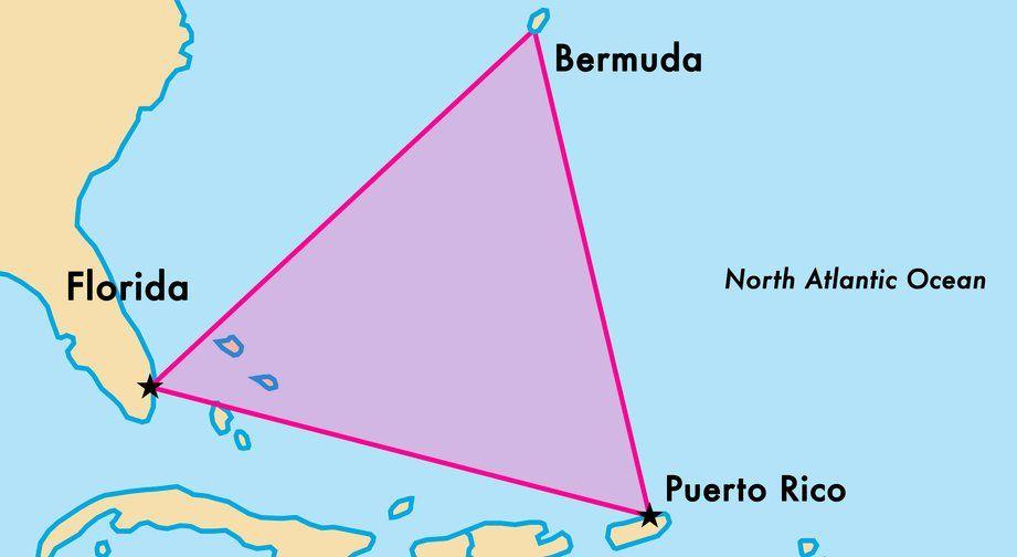 Бермудский треугольник покрывают странные шестигранные облака