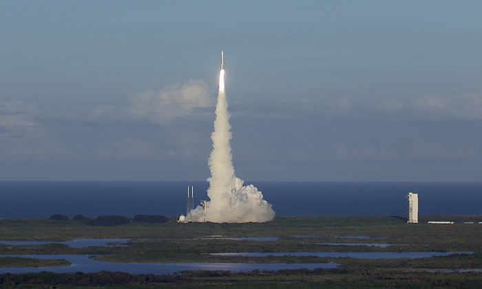 НАСА выложило видео успешного запуска OSIRIS-REx к астероиду