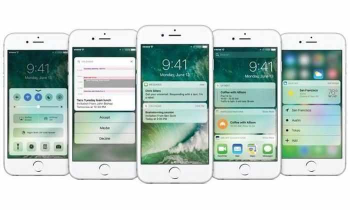 Что, где, когда: новая прошивка Apple iOS 10