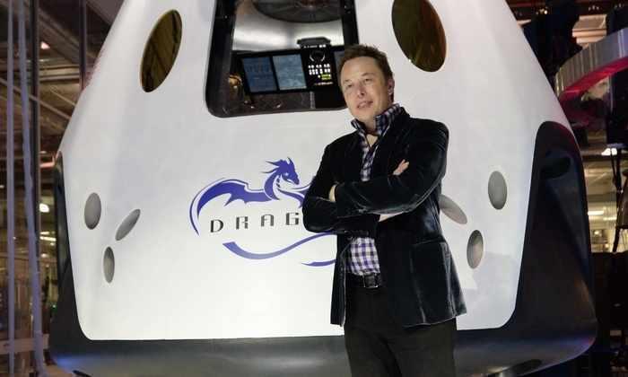 Илон Маск выпустил дракона