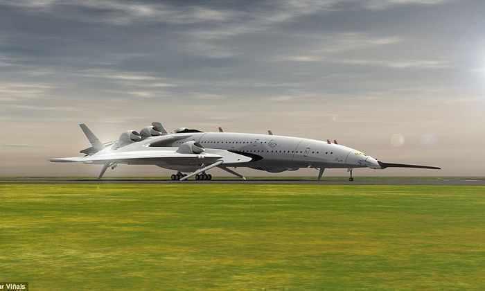 Самолет будущего: сверхзвуковой пассажирский самолет на ядерной энергии