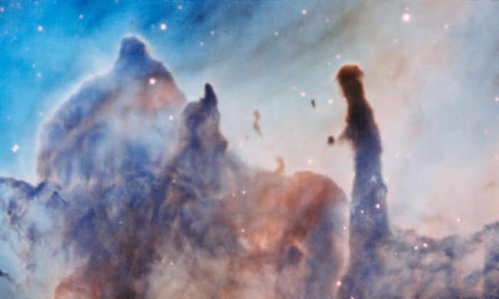 Астрономы сделали детальные снимки туманности Киля
