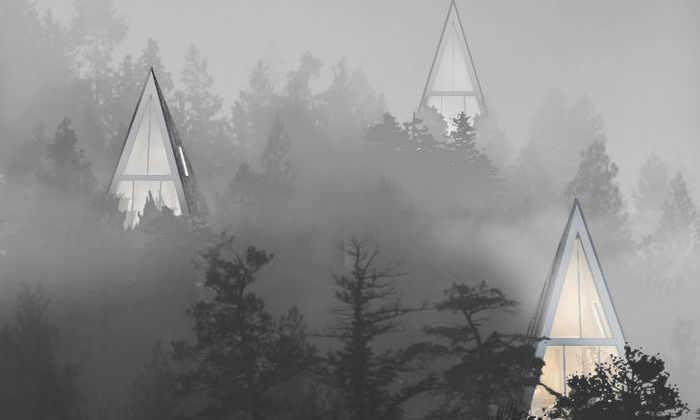 Рай в шалаше: проект жилых домов глубоко в лесу