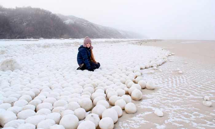 В Сибири обнаружили множество гигантских «снежков»