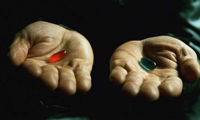Красная или синяя: как мы делаем выбор