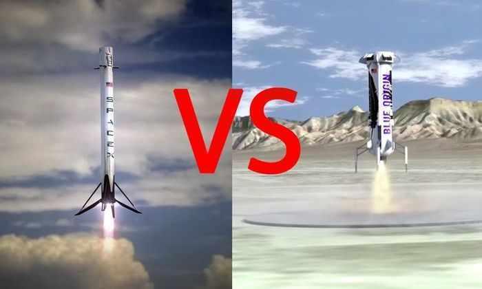 Что принесет миру соперничество SpaceX  и Blue Origin