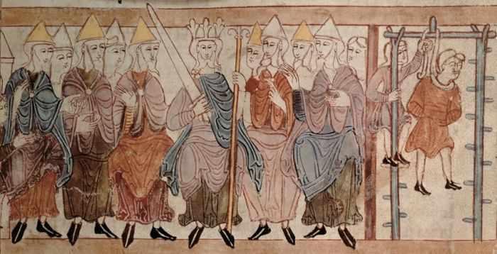 Детектив IX века: реконструкция древнеанглийского суда
