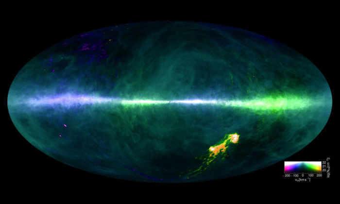 Самая полная карта Млечного Пути— наша галактика вовсей красе