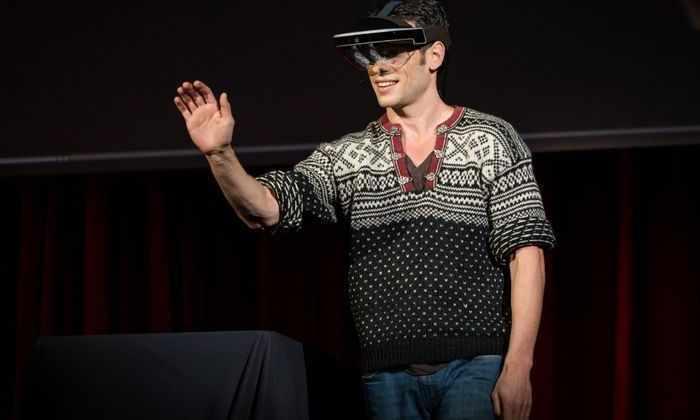 Новые очки превратят человека в операционную систему