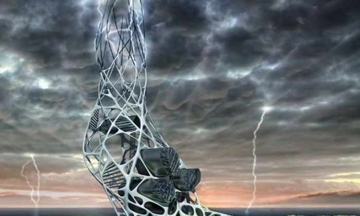 Высоко под напряжением: проект небоскреба поглощающего молнии