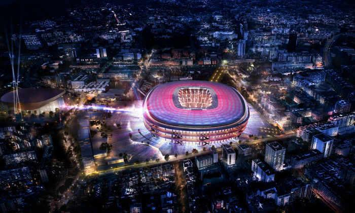 Храм каталонского футбола обретет новый облик