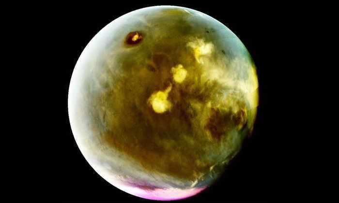 Марс засняли в ультрафиолетовом свете