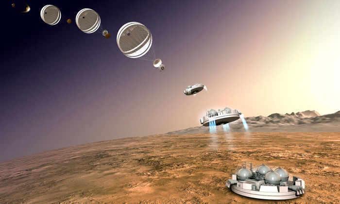 Посадка Скиапарелли» на Марс