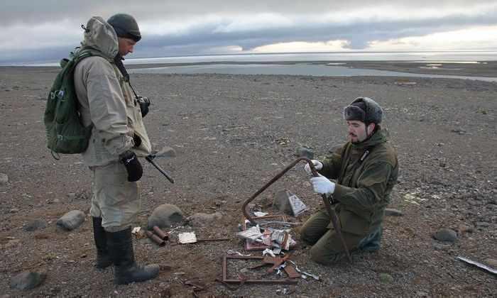 Российские ученые обнаружили секретную нацистскую базу в Арктике