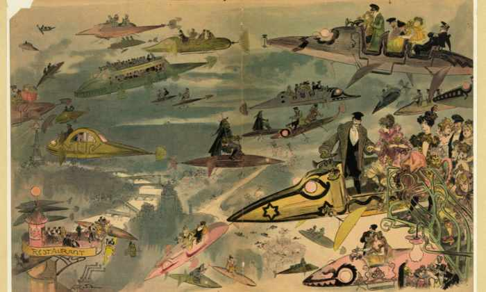 Ретрофутуризм:  наши предки хотели, чтобы мы летали на этом