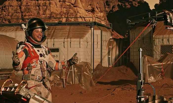 8 проектов домов для будущих марсиан