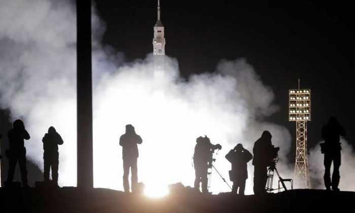 Пятидесятый экипаж отправился к МКС
