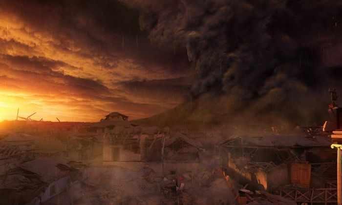 Последний день Помпеи: хроника событий