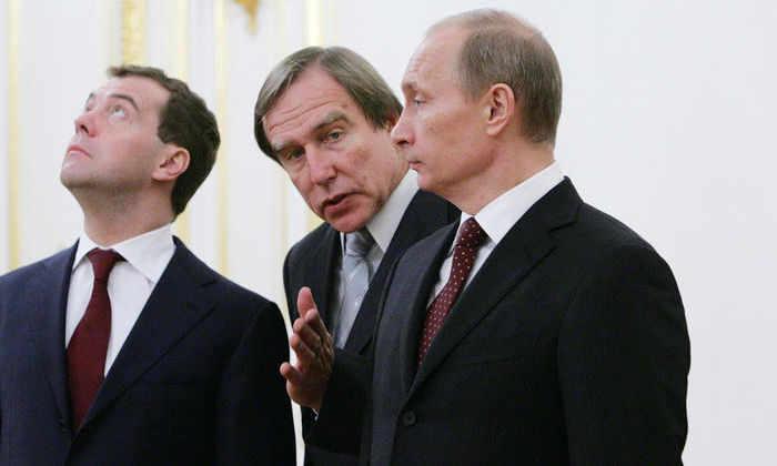 Тест: выберите советника Владимиру Путину