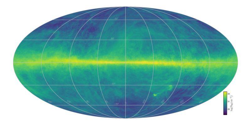 Ученые создали самую лучшую карту Млечного Пути