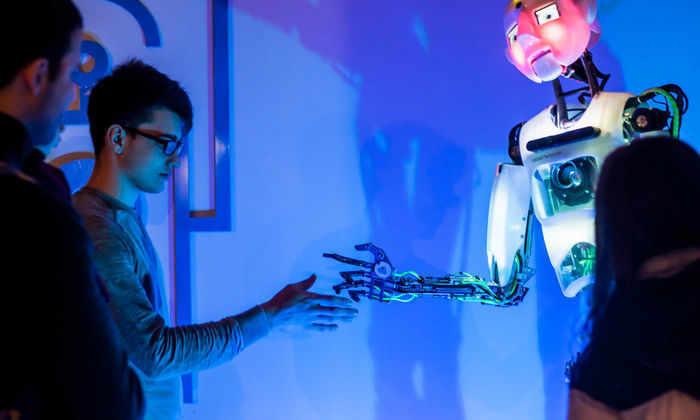 Роботы поселились на ВДНХ
