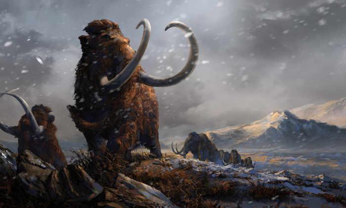 Мамонт Женя рассказал о первых людях в Арктике