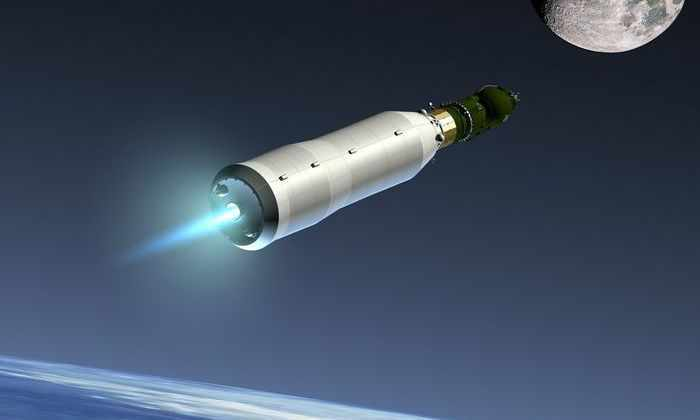 Российский многоразовый корабль полетит на Луну с МКС