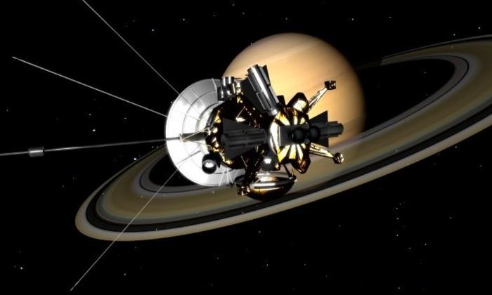 «Кассини» записал, как звучит пространство между Сатурном и его кольцами