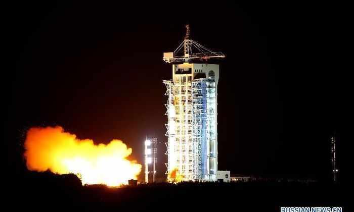 Китайцы запустили первый в мире квантовый спутник