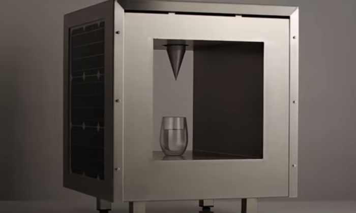 Видео: разработан прибор, вырабатывающий питьевую воду из воздуха