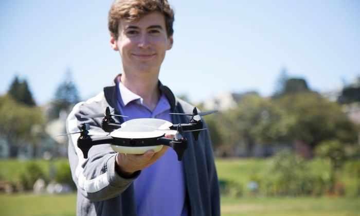 18-летний парень получил $100 000 и разработал дрон, обогнавший Tesla