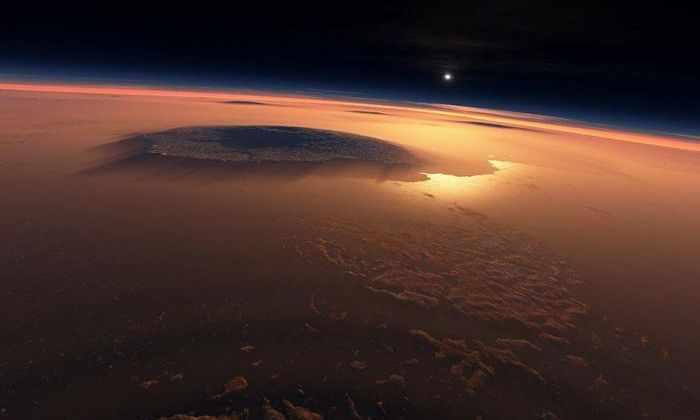 Экзотика Марса: самое холодное место планеты