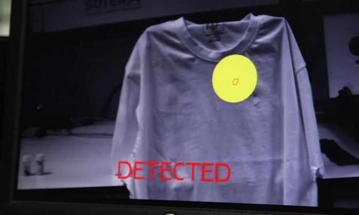 Новое устройство позволяет увидеть бомбу под одеждой террориста