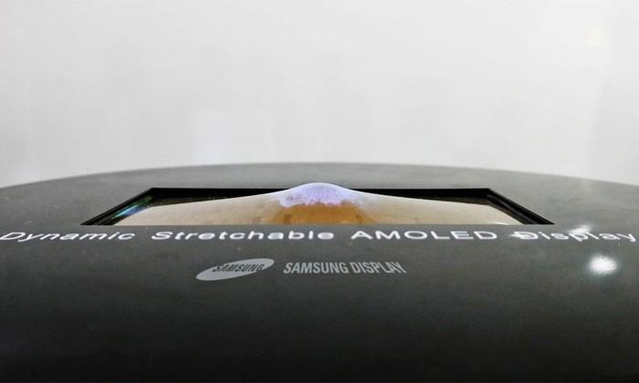 Samsung представила гнущийся во все стороны экран