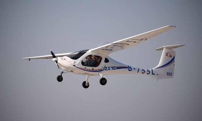 Китай успешно испытал самолет на водородном топливе
