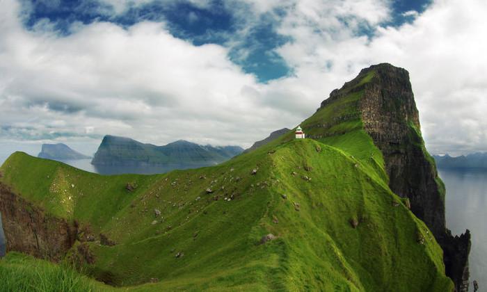 Google Street View достиг крошечных Фарерских островов благодаря овцам