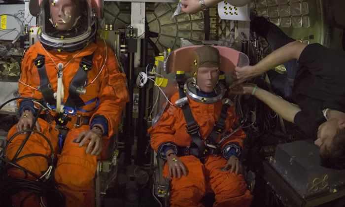 Видео: НАСА тестирует капсулу для первого пилотируемого полета на Марс