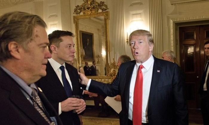 илон маск и дональд трамп