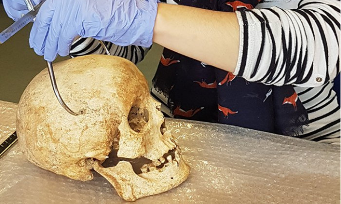 Реконструировано лицо человека, жившего 700 лет назад