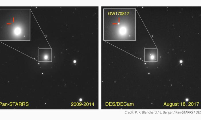 Астрономы открыли гравитационные волны от слияния нейтронных звезд
