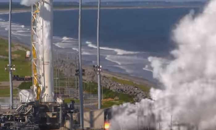 Видео: российские двигатели в ракете компании Orbital ATK прошли испытание огнем
