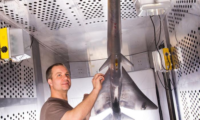 Испытания пассажирского сверхзвукового самолета QueSST