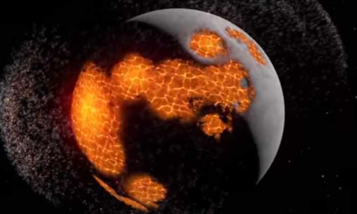 Видео: НАСА смоделировали захватывающую историю Луны