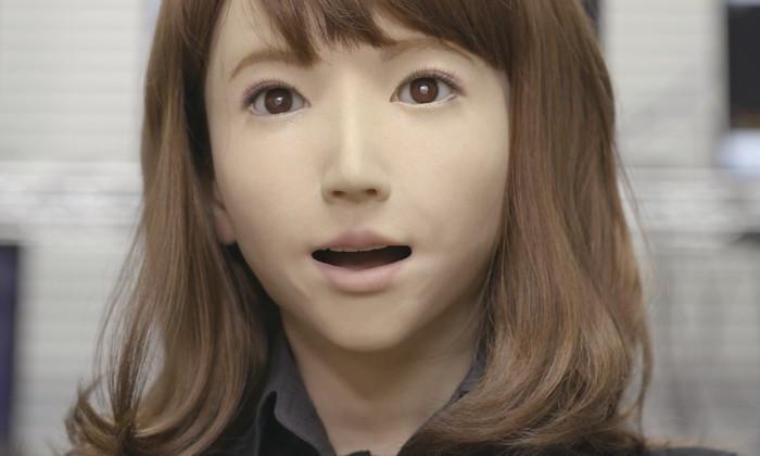Видео: Эрика - самый утонченный андроид в мире