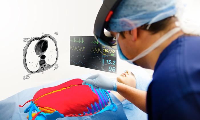 Хирурги X: дополненная реальность даст врачам рентгеновское зрение
