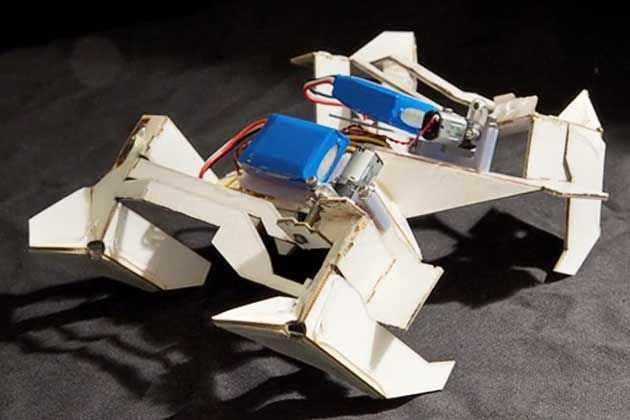 Ученые разработали оригами-робота для лечения желудка