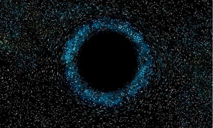 Русские иамериканские астрономы отыскали практически «голую» черную дыру