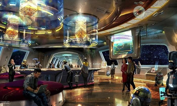 Звездные войны отель