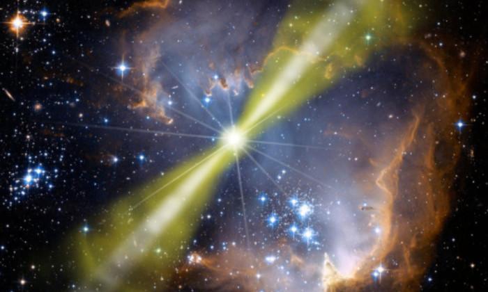 Физики воссоздали в лаборатории самый яркий взрыв во Вселенной
