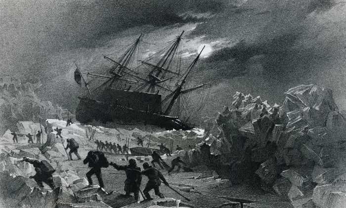 В Арктике нашли корабль, затонувший там 168 лет назад
